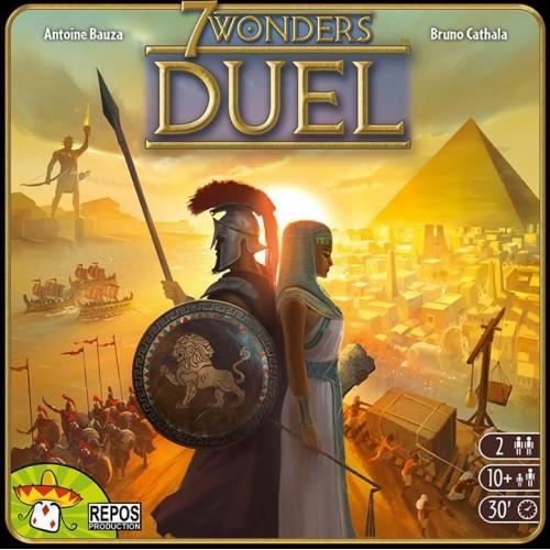 7 Wonders Duel + carte promo Messe cadou