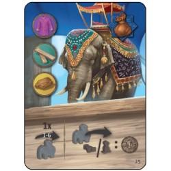 Agra: Ambabari Elephant Promo Card