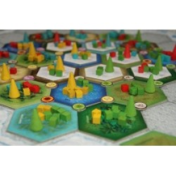 Majority area control – Dominant Species sau El Grande