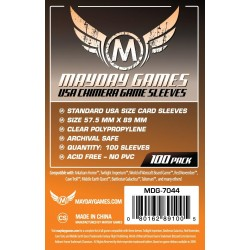 Mayday USA Chimera Game Sleeves (100) 57.5 X 89 MM