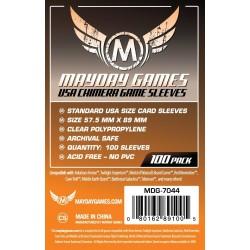 Mayday USA Chimera Game Sleeves (100) 57.5 X 89 MM