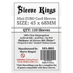 Sleeve Kings Mini Euro Card Sleeves (45x68mm)
