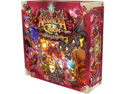 how to play arcadia quest inferno