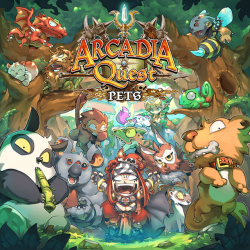 Arcadia Quest: Pets (cutia usor avariata)