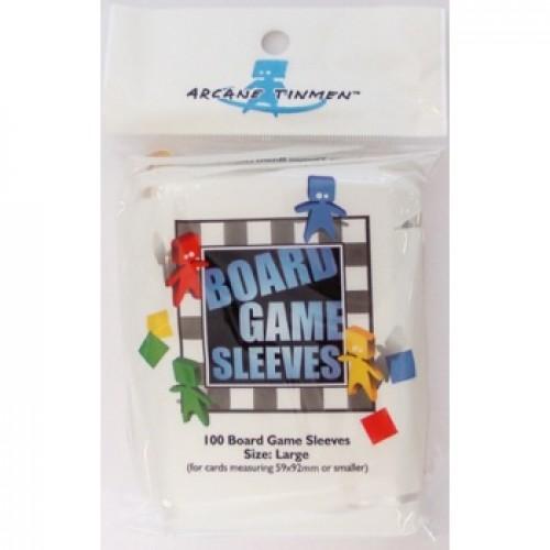 Arcane Tinmen - European Standard Card Sleeves (100) 59x92 mm