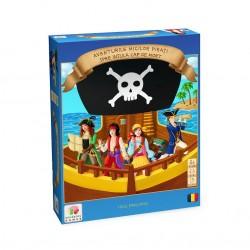 Aventurile micilor pirati spre insula Cap de Mort