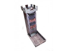 Castle Keep Dice Tower With Magnetic Turn Tracker