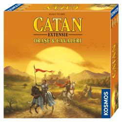 Colonistii din Catan - Orase si Cavaleri