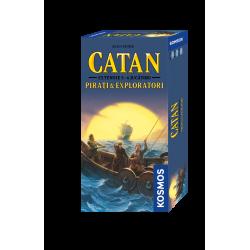 Colonistii din Catan - Pirati si Exploratori - extensia pentru 5/6 jucatori