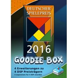 Deutscher Spielepreis 2016 Goodie Box