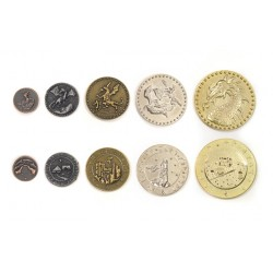Dragon Metal Coins