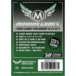 Mayday Card Game Premium Sleeves (63.5x88 mm)