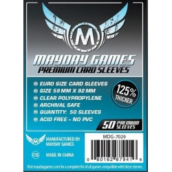 Mayday Premium Euro Card Sleeves (59x92mm)