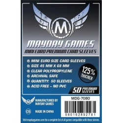 Mayday Premium Mini Euro Card Sleeves (45x68mm)
