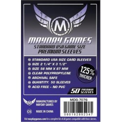 Mayday Standard USA Card Sleeves (56x87mm)
