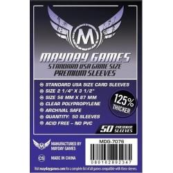 Mayday Standard USA Card Sleeves (56x87mm)
