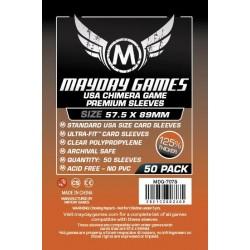 Mayday Premium Standard USA Chimera Card Sleeves (57.5x89mm)
