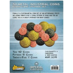 Metal Industrial Coin Board Game Upgrade Set