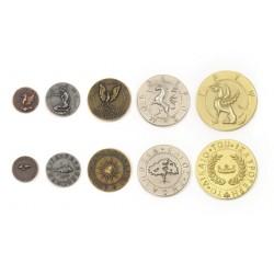 Mythological Creatures Metal Coins