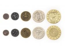 Mythological Monsters Metal Coins