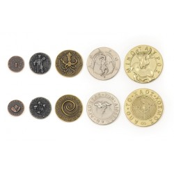 Mythological Monsters Metal Coins