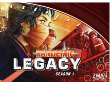Pandemic Legacy - Season 1 (Red Version)