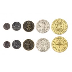 Middle Ages Metal Coins